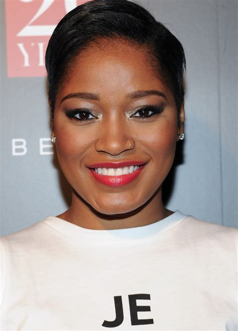 keke palmer tattoo keke palmer tries out a bold new eyebrow piercing style