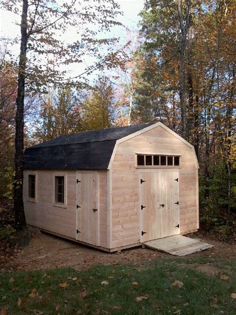 Gambrel Barn Plans by Pdf 12x16 Gambrel Shed Plans Plans Free
