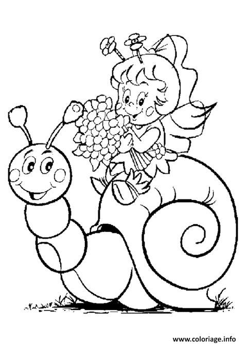 Coloriage Petite Fille Avec Hugo Lescargot Dessin Coloriage Magique Fille L