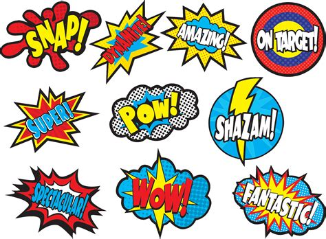 Justice League Wall Stickers superhero sayings accents tcr5835 teacher created