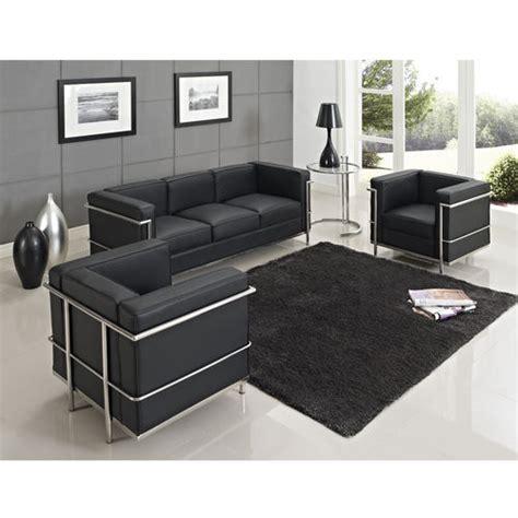 le corbusier lc2 sofa set lc2 1 2 3 seater sofa modern