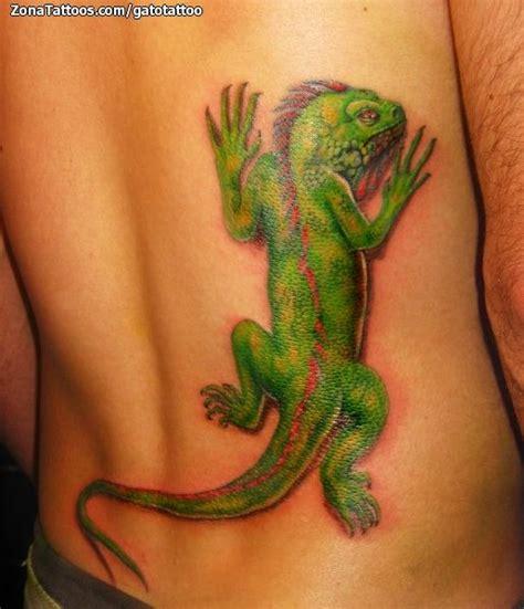iguana tattoo tatuaje de iguanas lagartos animales lizard