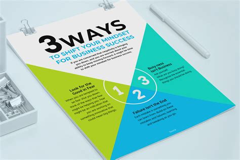 Colorful Business Information Flyer Exle Venngage Flyer Exles Information Flyer Template