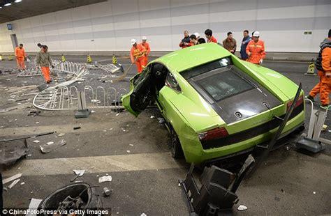 Lamborghini Song Outrage As Lamborghini And Crash And Wreck