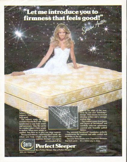 perfect sleeper vintage ad firmness  feels