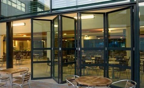 Glass Bi Folding Uk Glass Group Restaurant Garage Doors