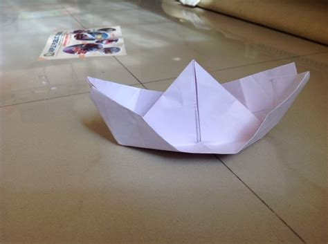 Origami Sail Boat - how to fold an origami sail boat 10 steps with pictures