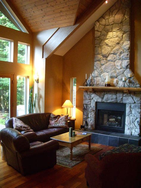 Chalet Fireplace by Home Floor Plan Designs Austrian Chalet Style
