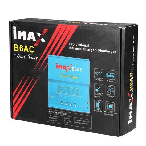 Imax B6ac Intelligent Balance Charge Lipo Accu All Battery imax b6ac 50w balance charger multifunctional intelligent