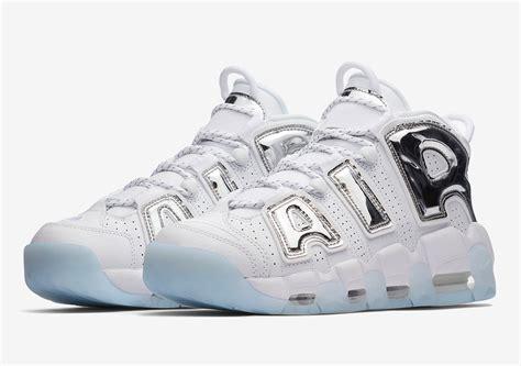 sneaker news nike air more uptempo white chrome blue tint 917593 100