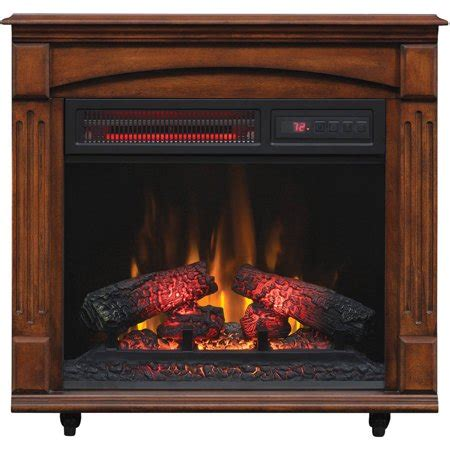 Chimney Free Tower Heater - chimneyfree electric infrared quartz fireplace space