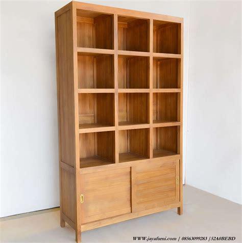 Daftar Rak Buku Murah rak buku murah minimalis pintu geser terdapat 2 pintu