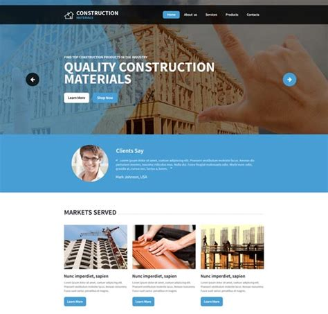 120 Best Architecture Construction Website Templates 2018 Freshdesignweb It Company Website Template