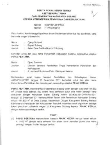 Berita Acara Kegiatan by Contoh Berita Acara Kesalahan Kerja Berita Jakarta