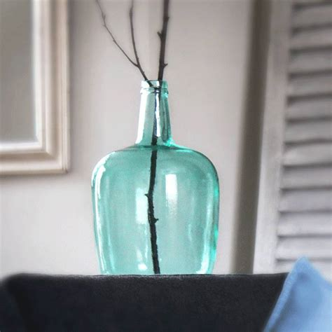 Large Recycled Glass Vase by Recycled Glass Vase By St Aidan S Homeware Store