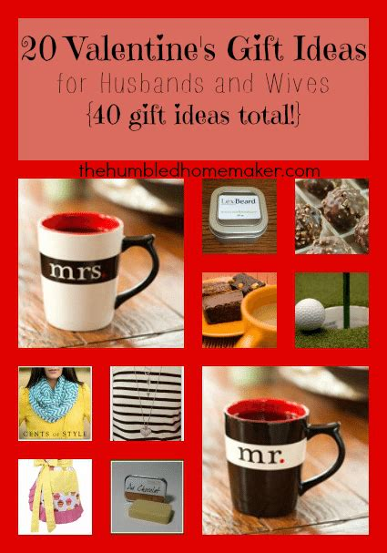 valentines gift for husband 20 s day gift ideas for husbands and 40
