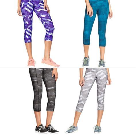 blue patterned workout navy blue workout capris breeze clothing