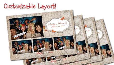 layout for photo booth custom layout fun wacky photo booth photo booth rental