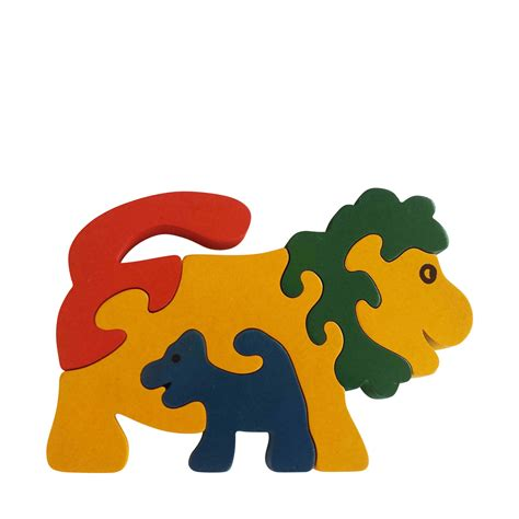 wooden animal puzzle jigzoos australia jigzoos