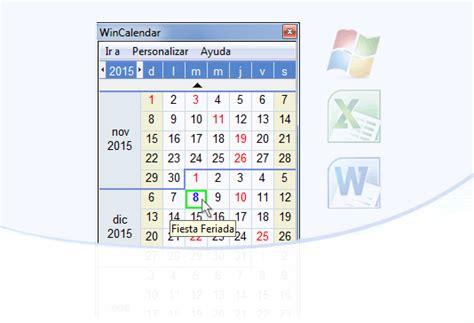 Calendario Windows Wincalendar Creador De Calendario Y Descargas De