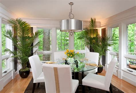 Plants In Dining Room by Ways Of Decorating Your Interior With Green Plants Home