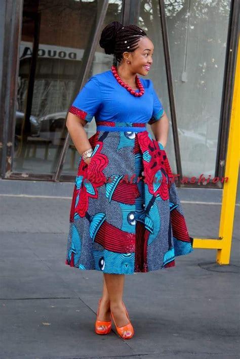 Simple Ankara Dress Designs