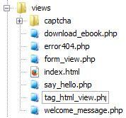membuat tag html membuat tag html dengan codeigniter