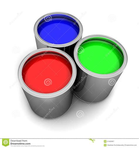 paint rgb royalty free stock photography image 21402907