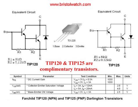 transistor npn array darlington array transistor images