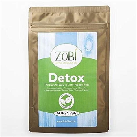 Best Two Week Detox Tea by Best Seller Zobi Detox Tea 2 Weeks Supply 14 Tea Bags