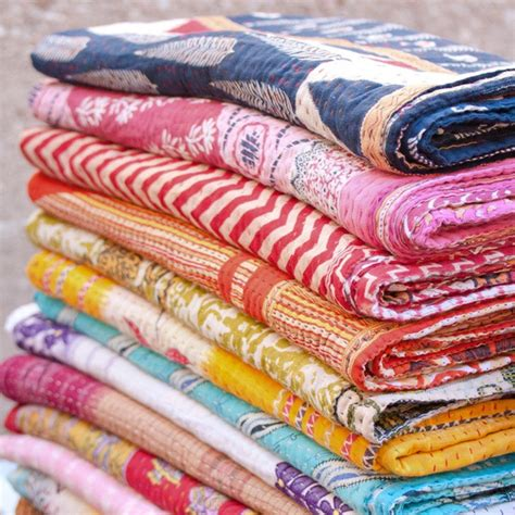 Wholesale Kantha Quilts by 3 Pc Wholesale Vintage Kantha Quilt Indian Quilt Vintage