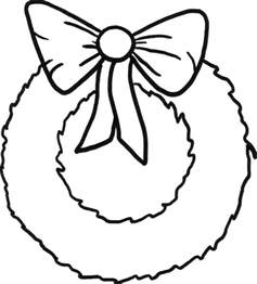wreath coloring page 21 best images about wreaths on closet storage