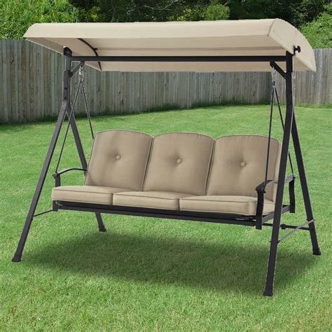 swing seat canada walmart harvey 3 seater hammock swing and walmart harvey