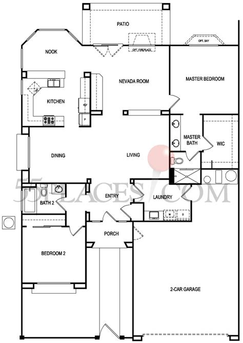 sun city summerlin floor plans grafton floorplan 1574 sq ft sun city summerlin