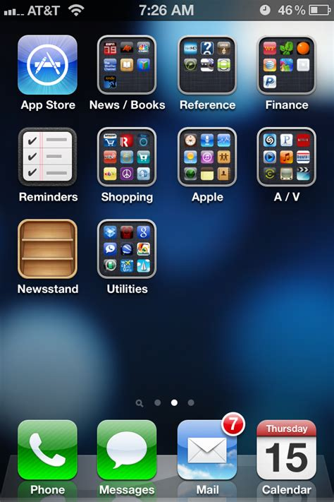 outside the rat race iphone home screen set up