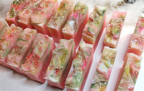 Handcrafted Luxury - handcrafted luxury soap pink grapefruit makingfairies
