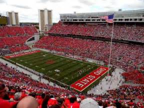 Ohio State Stadium Map by Ohio Stadium Interactive Seating Plan