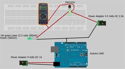 laser diode driver arduino how to drive green laser using an arduino page 2 laser pointers