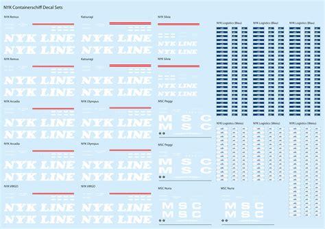 Decal Erstellen Lassen by 1 1250 Decals 187 1 1250 Decals Individuelle Anfertigungen