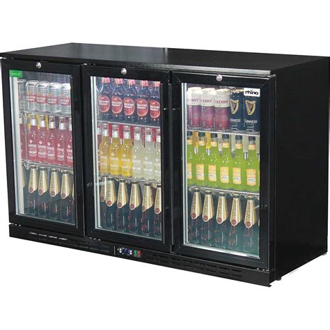 bar with and fridge 3 glass door commercial bar fridge australia wide delivery