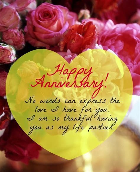 wedding Anniversary Sayings and wishes for Cards   Cute