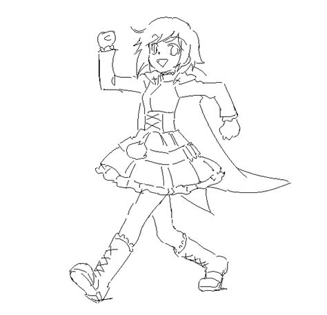 ruby rose coloring page rwby ruby chibi coloring pages