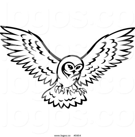 flying owl clipart owls flying clipart 36