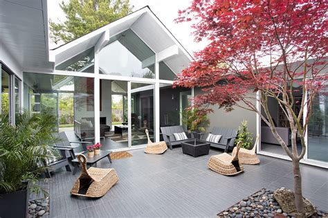 fascinating eichler home remodel in burlingame california