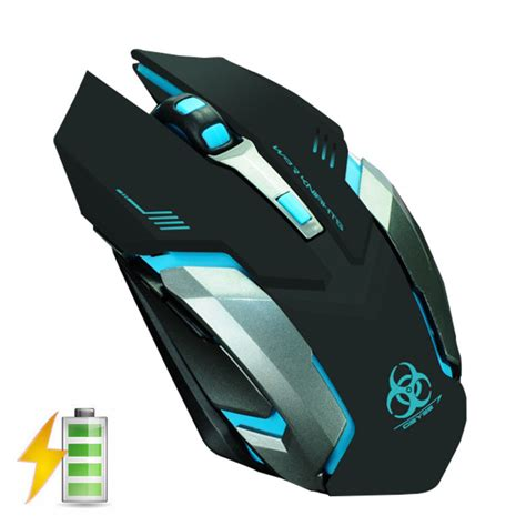 Mouse X7 Wireless evesky x7 2 4ghz wireless rechargeable led backlit usb