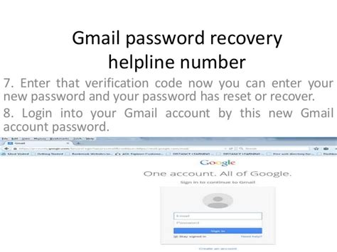 Gmail Password Reset Verification Code | 1 888 451 4815 gmail password recovery customer service