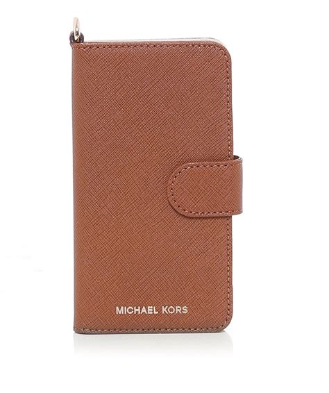 Michael Kors 7 michael michael kors leather iphone 7 folio jules b