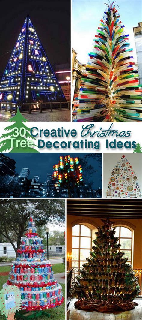 creative tree decorating themes 30 creative tree decorating ideas hative