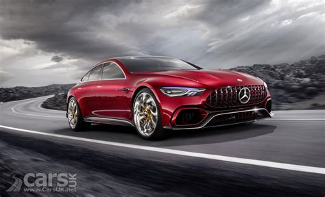 mercedes amg gt concept four door amg saloon hits 62mph in