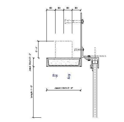 Overhead Door Jamb Detail Overhead Door Detail Architectural Details Architekwiki Pole Barn Autocad Drawing Studio